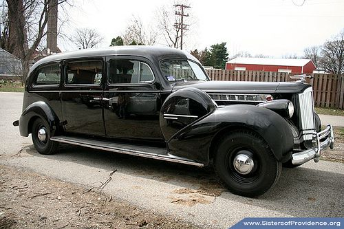 1940 Henney Packard Hearse by Sisters of Providence, via Flickr