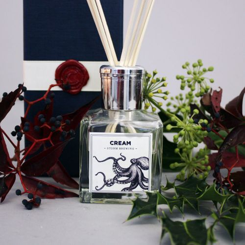 Maritime Room Diffusers - Storm Brewing by Cream Cornwall | giftwrappedandgorgeous.co.uk