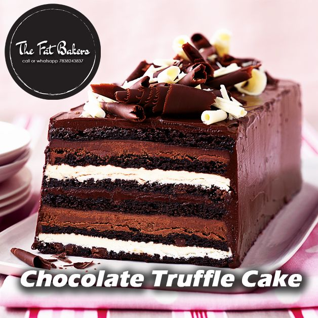 Order #ChocolateTruffleCake for someone's birthday or anniversary or Send #Chocolate Truffle #Cake as a gift anywhere in Delhi as the same day. The Fat Bakers Best #CakeShop in Delhi.Call or WhatsApp +91-7838-243-837