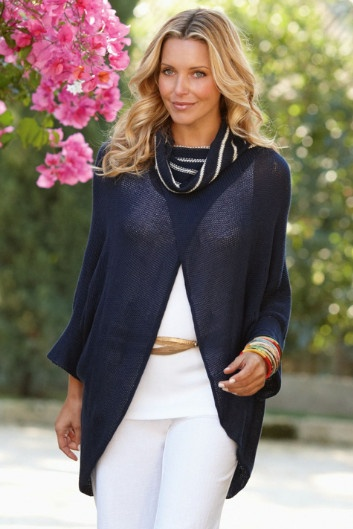 Soft Surroundings Positano Sweater $79.95: Unique Sweaters, Surroundings Positano, Positano Sweaters, Clothing Style, Soft Surroundings, Jersey Knits, Angie Fashion, Web Exclusively Offer, Sweaters 7995