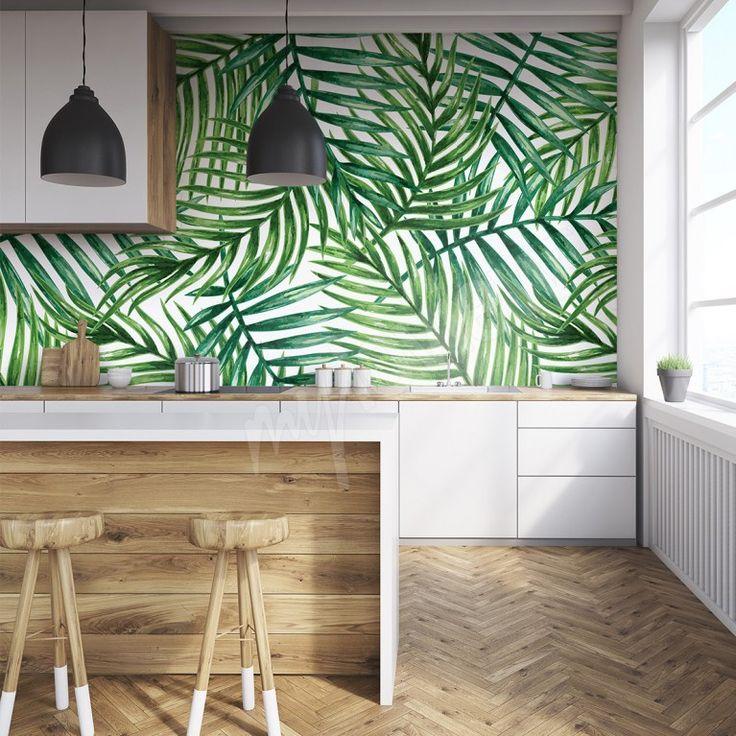 les 25 meilleures id es de la cat gorie papier peint cuisine sur pinterest papier peint de. Black Bedroom Furniture Sets. Home Design Ideas