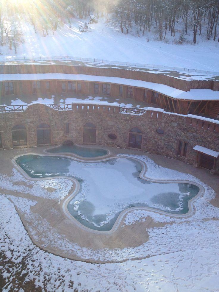 bolu gazelle resort... iced pool...