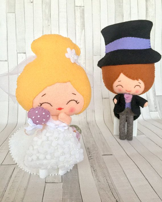 This beautiful set of 2 dolls is the perfect decoration for your #wedding It could be used as wedding #cake topper, decoration for the photography or as a #decor for the table near the #guest book