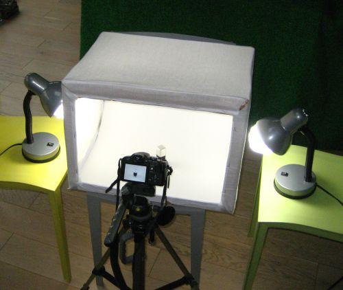 Comment fabriquer un mini studio photo en une heure et pour quelques Euro - Documentation Wifeo.com