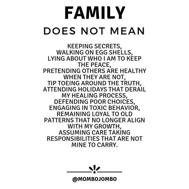 What Family Is And What Its Not Goodmentalhealth Via Mombojombo Family Issues Quotes Toxic Family Quotes Broken Family Quotes