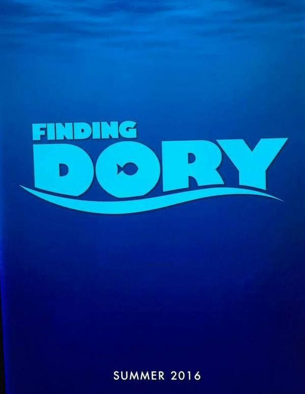 Finding Dory #D23 Poster.