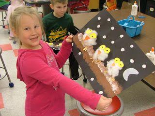 Art with Mrs. Seitz: Owl Babies