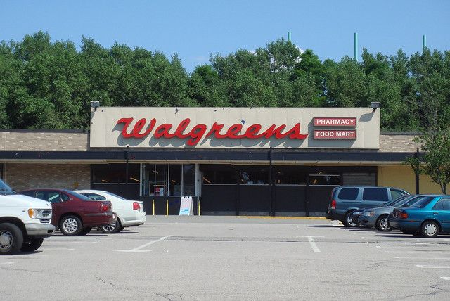 The Walgreens at the dilapidated Stop & Shop plaza along American Legion Highway has been here for a while. Once home to Stop & Shop Companies' Medi-Mart at one point, becoming Walgreens in 1986 when the chain took over.  This location remains left somewhere in time, distant from the flashier designs the flourishing pharmacy chain as taken today.