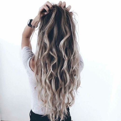 Hair Girl And Beauty Image H A I R Pinterest