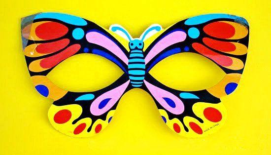 Butterfly Felt Mask | Childhood101