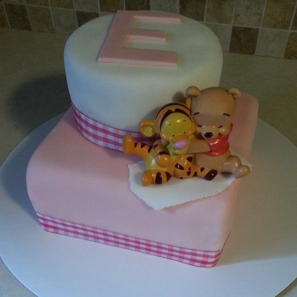 baby winnie the pooh shower cake cakes pinterest