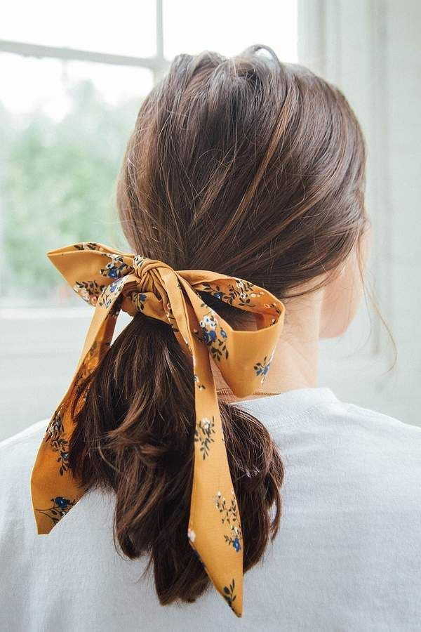 Urban Outfitters Darling Draped Bow Scrunchie