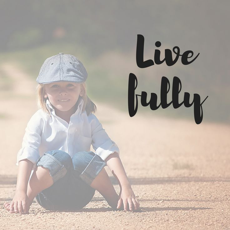 """Live Fully"" Affirmation Decal"