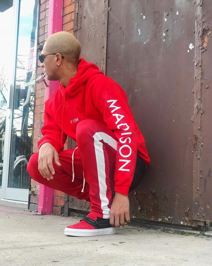 This Is Bloody Red  Cop the whole fit @madison_new_york  #FOG #FluxDeMaison #StreetFashion  #Fall2017 #pacsun #blog #mensfashion #model #NYC #dope #streetwear #OcherCruz #FearOfGod #photooftheday #like4like  #trend #dopestyle #blogger #photoshoot #NYClifestyle #supreme #stevenalan #DefendParis #collab #vans #madisonny