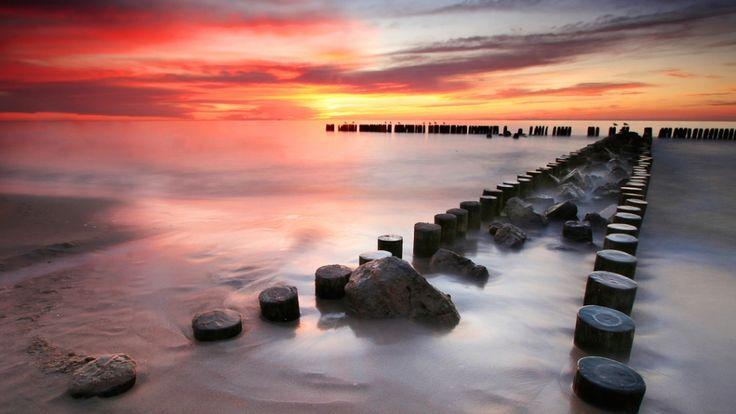 #baltic #balticsea #sea #sunset 3 #bałtyk #landscape