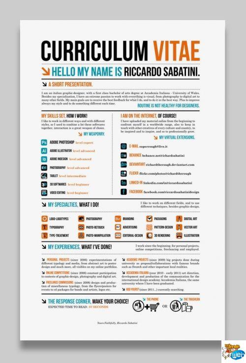 286 best CV \/\/ RESUME images on Pinterest Architecture, Cv ideas - pimp my resume