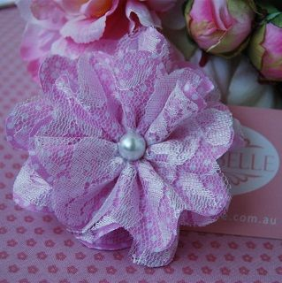 Peony Hair Clip - $14.95 - Handmade vintage inspired accessories for little girls, these gorgeous Peony Hair Clip adds that finishing touch to your little ones outfit and hair style #sweetcreations #baby #kids #girls #hair #accessories #asterbelle #headband #accessorise