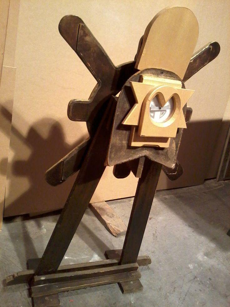 timón PIRATA, juguete y entretenimiento para niños en madera Recycled