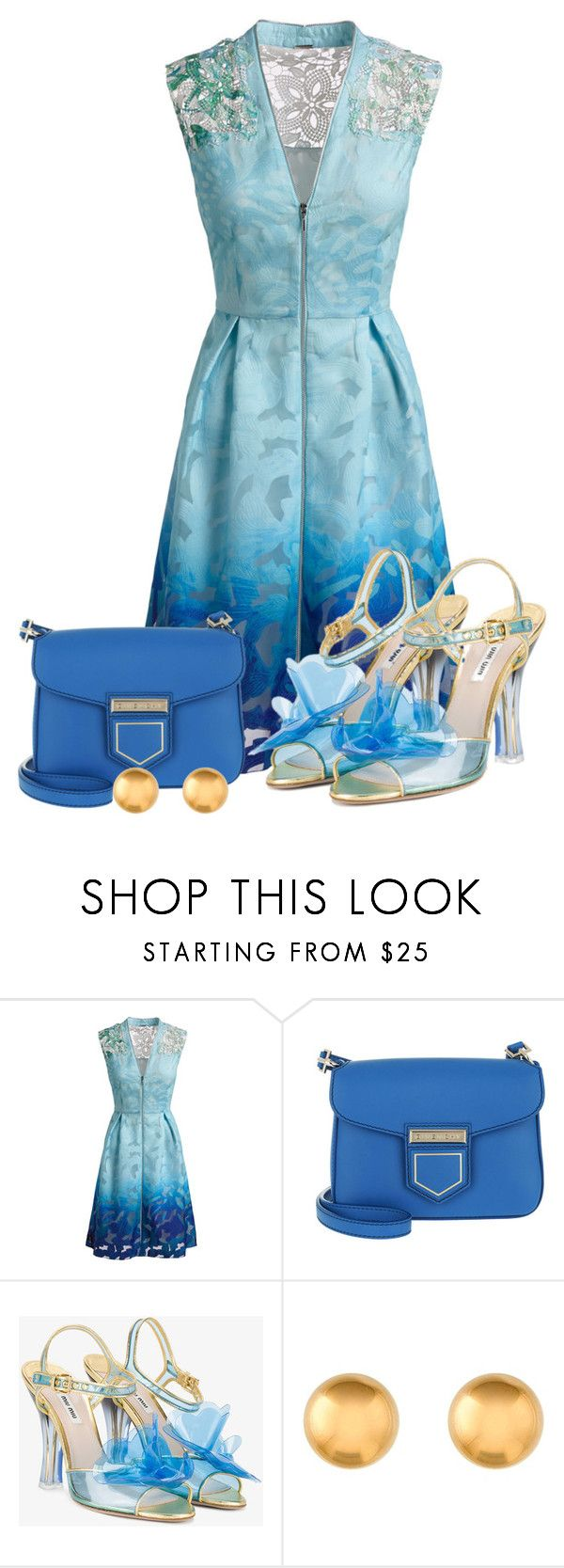 """""""blue"""" by luisa100 on Polyvore featuring Mode, Elie Tahari, Givenchy und Miu Miu"""