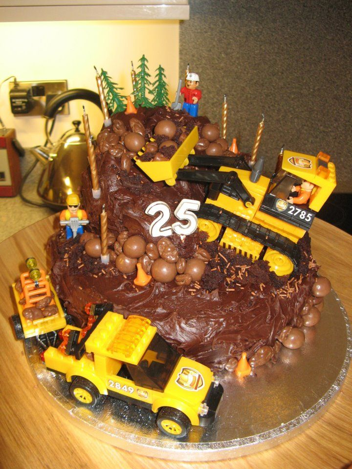 Digger Cake Decorations