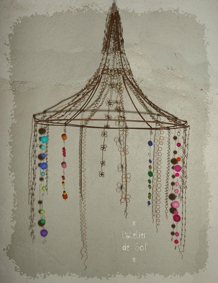 447 best wire art hanging decorations images on. Black Bedroom Furniture Sets. Home Design Ideas