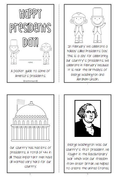 Free Presidents' Day Packet