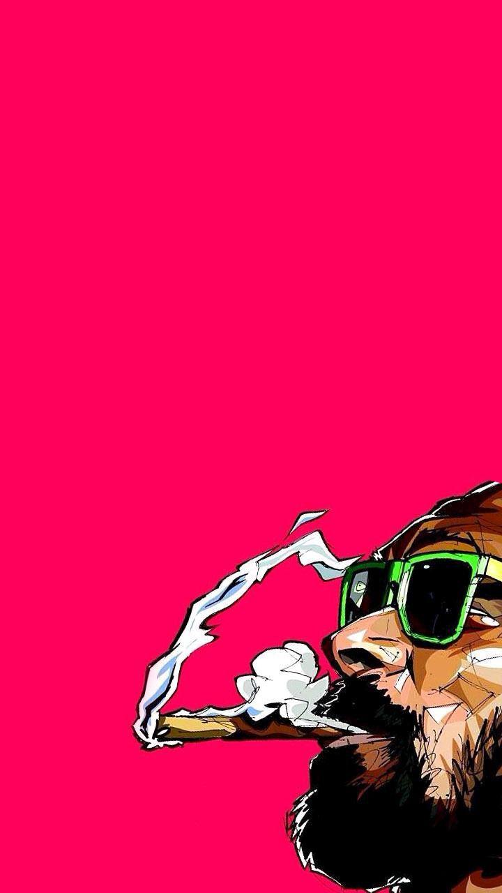 Cartoon Snoop Dogg Iphone Wallpaper