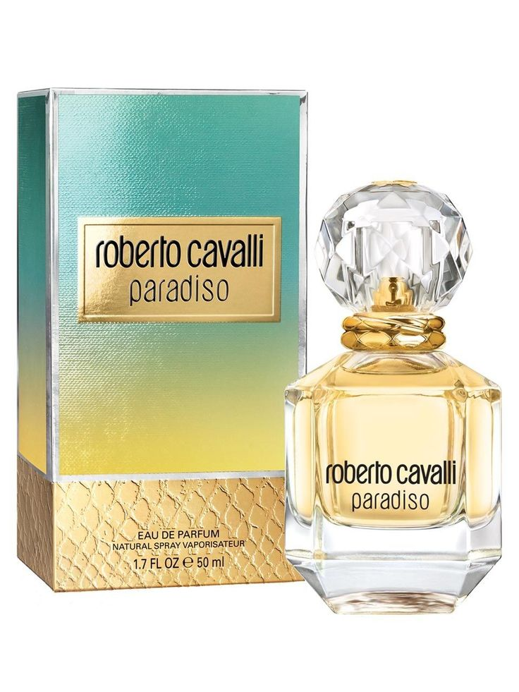 Roberto Cavalli 'paradiso' The perfume shop