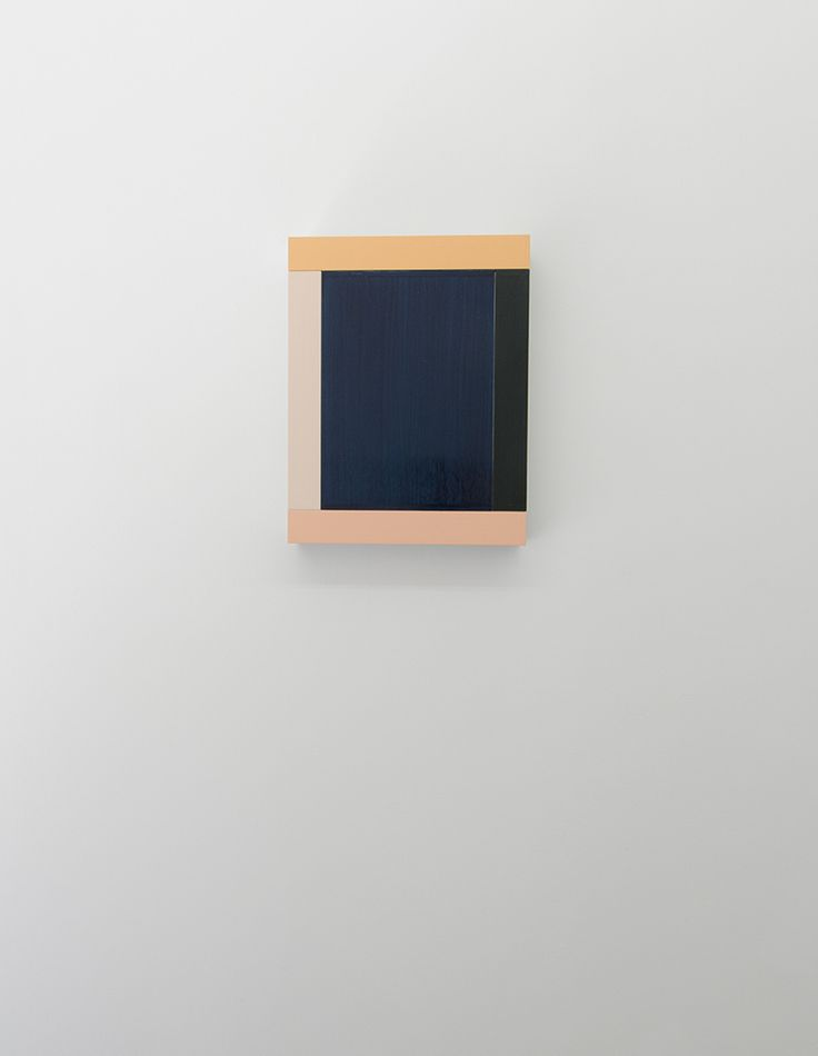 Imi Knoebel - ANIMA MUNDI 30 - 2012 - Acrylic on aluminium, 46 x 36 x 6.5 cm