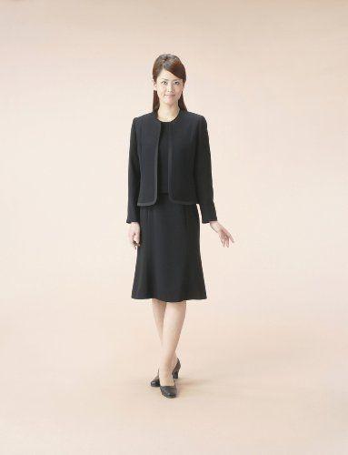 Amazon.co.jp: (マーガレット)marguerite m415 ブラックフォーマル レディース アンサンブル 礼服: 服&ファッション小物