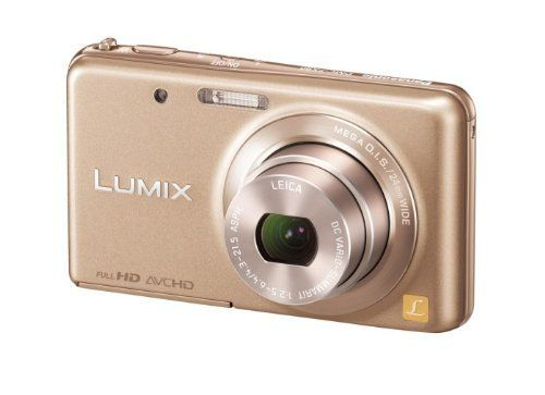 Panasonic digital cameras Lumix Royal Gold DMC-FX80-N by Panasonic. $163.95