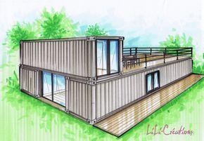 Les 25 meilleures id es de la cat gorie ipn poutre sur - Zen forest house seulement pour cette maison en bois ...