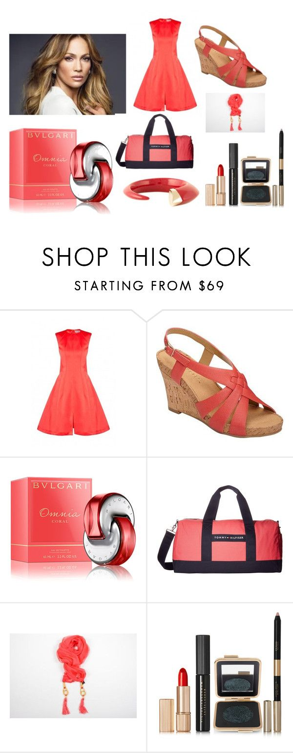 """Jennifer Lopez"" by linus-isotalus on Polyvore featuring Jil Sander, Aerosoles, Bulgari, Tommy Hilfiger, Guy Laroche, Estée Lauder and Shaun Leane"