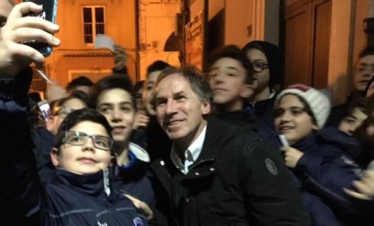 Campobasso - L'omaggio del Molise a Franco Baresi: applausi e retroscena di un super pomeriggio - Primonumero.it
