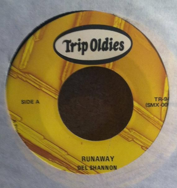 Del Shannon Runaway B W Hats Off To Larry Vinyl Pop 45 Rpm Etsy In 2020 Del Shannon Del Shannon Runaway Shannon