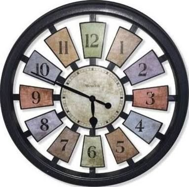 18 Best Wall Clocks Images On Pinterest  Small Wall Clocks Beauteous Small Wall Clock For Bathroom Review