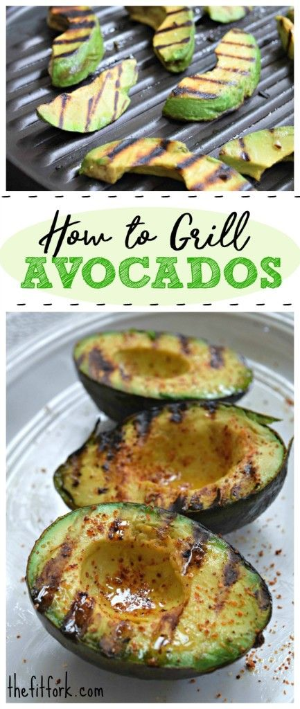 How to Grill Avocados -- Grilling this creamy, savory fruit gives is a delicious char and smoky swag that improves and breakfast, lunch or dinner recipe. Plus, coating with olive oil before grilling seals the avocado, keeping it from sticking on the grill and also preventing oxidation -- this means leftovers stay fresh in the fridge for a couple days!