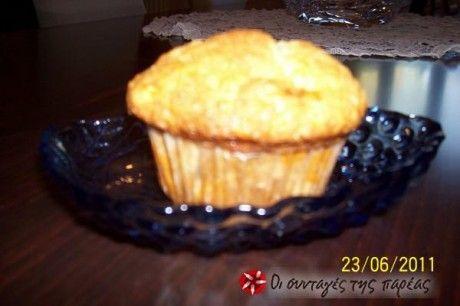 Banana muffins (nice alternative for softened, blackened bananas)