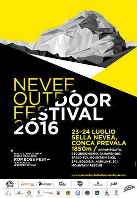 IL BLOG DELLA MONTAGNA: NEVEE OUTDOOR FESTIVAL 2016