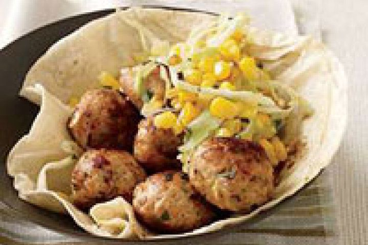 Chipotle-Chicken Meatballs Recipe | Recipe mommy | Pinterest