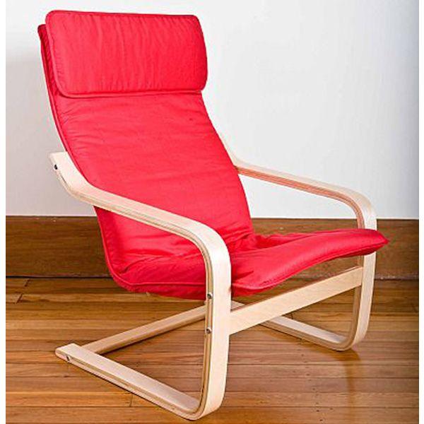 Adult Relax Armchair - Red #limetreekids