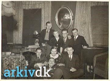 Beboere på Pensionat Katholm, bl.a. Henry Mortensen, købmand, Bredgade 2. 1930-1940