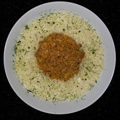 Creamy Curried Mince