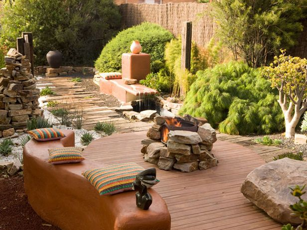 Cozy up in front of a beautiful fire pit this winter. http://www.hgtv.com/outdoor-rooms/beautiful-outdoor-fireplaces-and-fire-pits/pictures/index.html?soc=pinfave