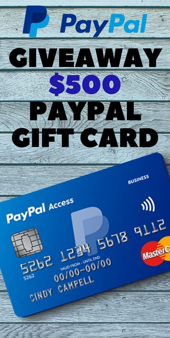 Free Paypal Gift Card2020 How To Get Free Paypal Gift Card Paypal Gift Card Gift Card Deals Visa Gift Card