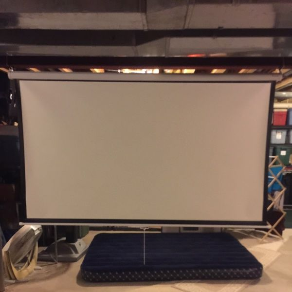 For Sale: Projector Screen for $1250
