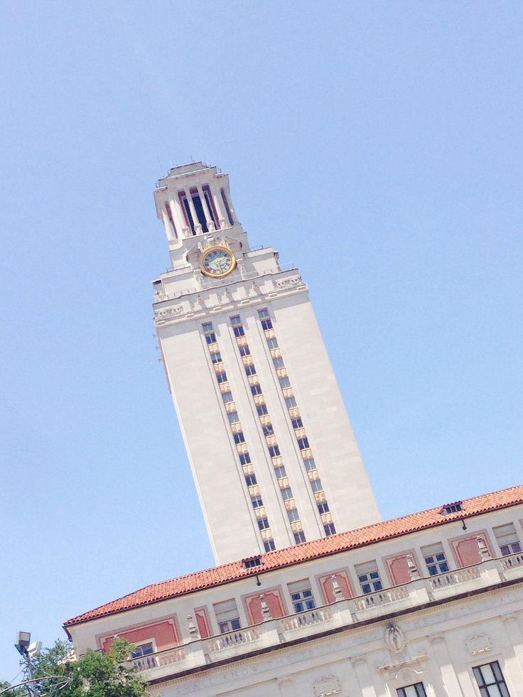 UT tower.