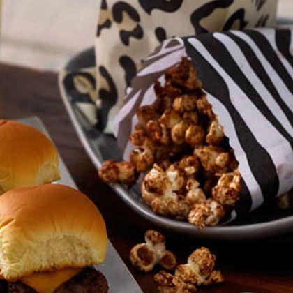 Homemade Vanilla and Cinnamon-Sugar Popcorn (it's BETTER than caramel corn!)  http://www.health.com/health/recipe/0,,50400000109410,00.html#