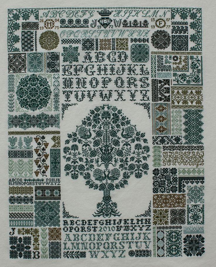 Jan Houtman cross stitch
