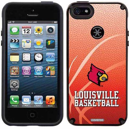 University of Louisville Basketball Design on Apple iPhone 5SE/5s CandyShell Case by Speck